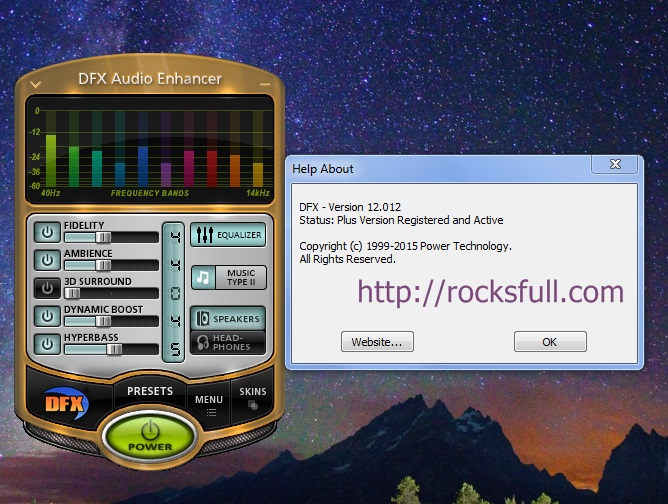 DFX Audio Enhancer - Free download and software
