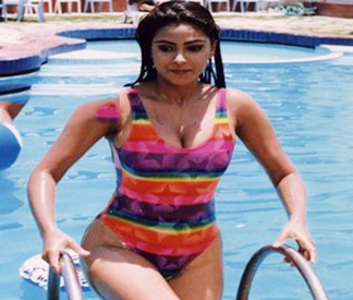 Simran in Nadhiya Out  CineJwalaNadhiya In Jackpot