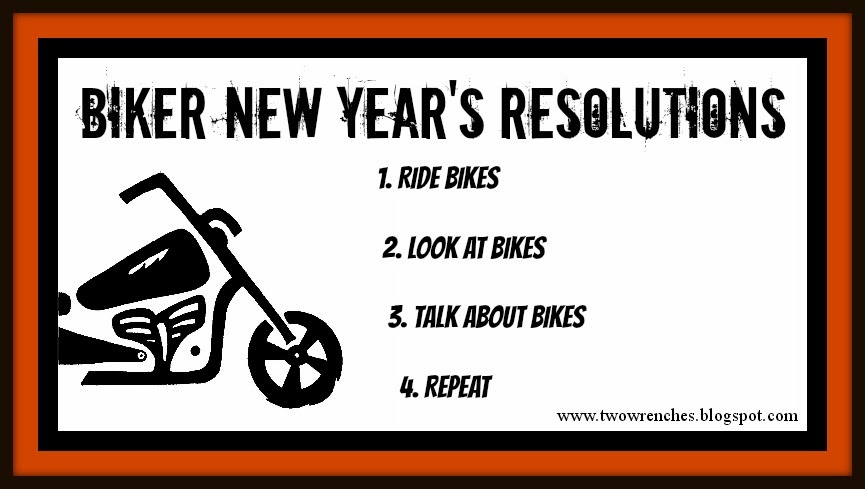 new years resolutions for bikers