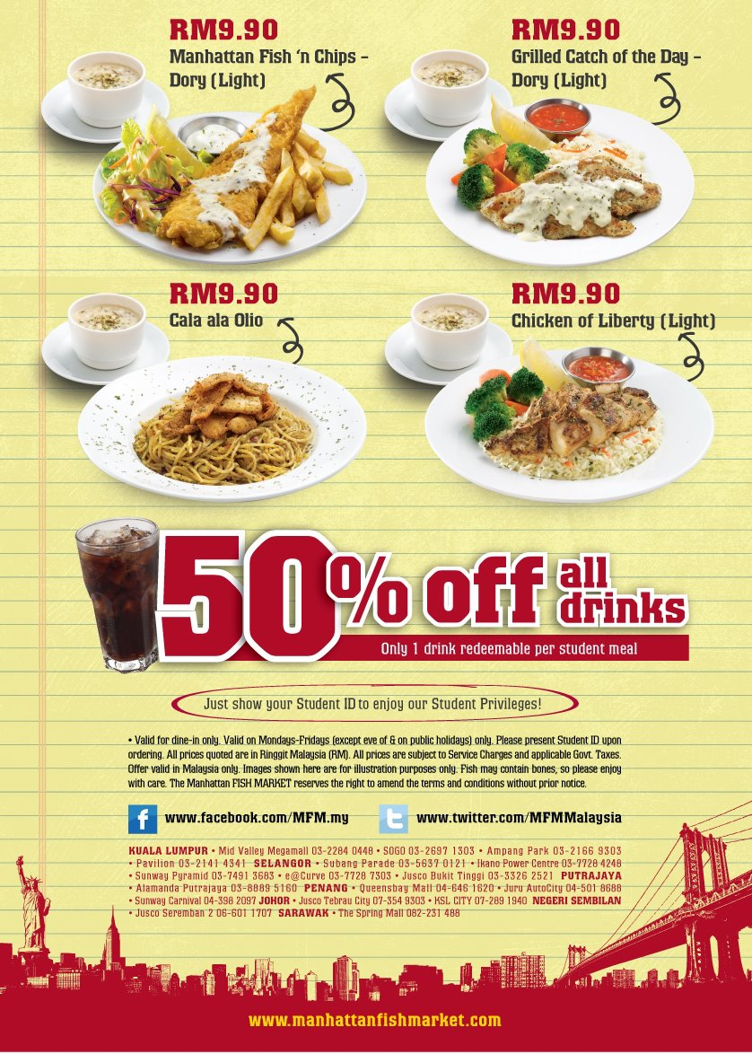 I Love Freebies Malaysia: Promotions > 50% off at The ...