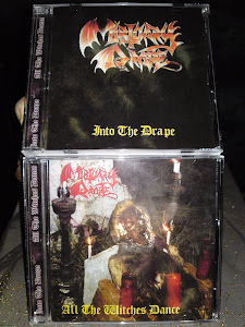 MORTUARY DRAPE''into the drape+all the witches dance''