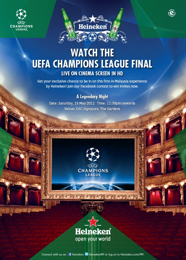 UEFA Champion League Finals With Heineken