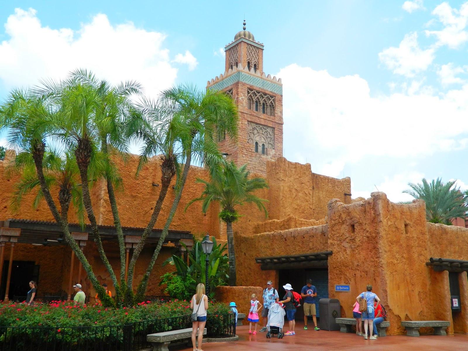 epcot morocco building