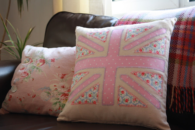Tales from a happy house.: Union Jack Cushions