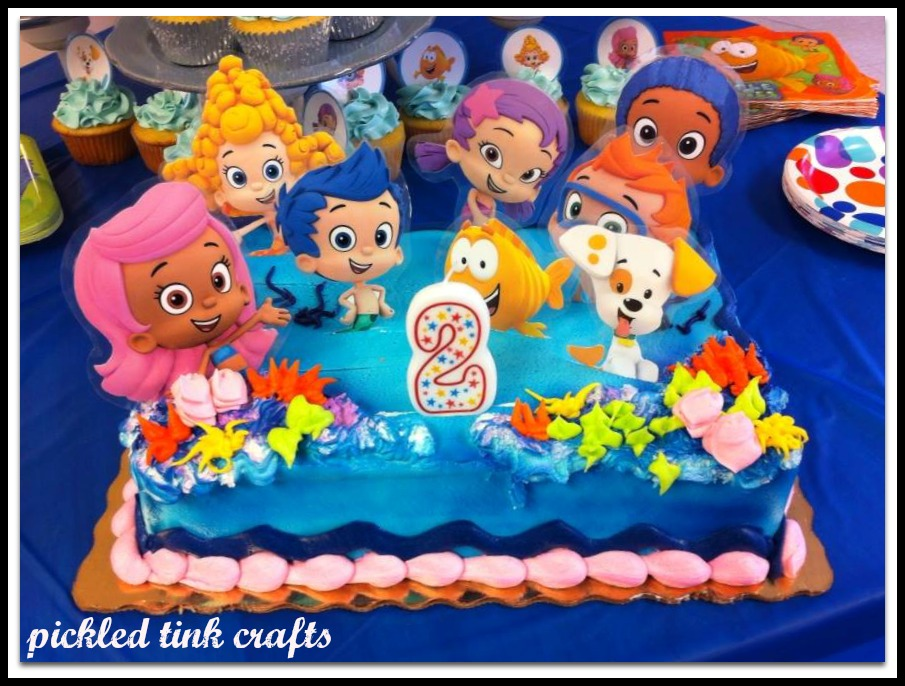 Bubble Guppies Birthday Cake Publix