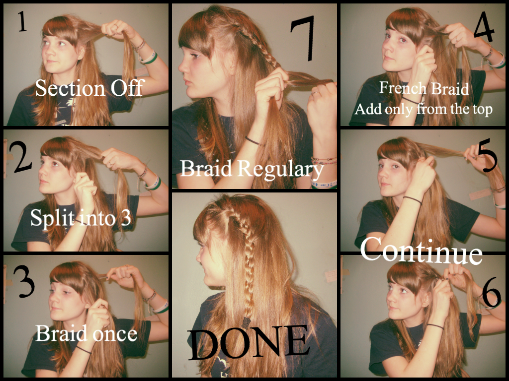 How to Do a Lace Braid Steps