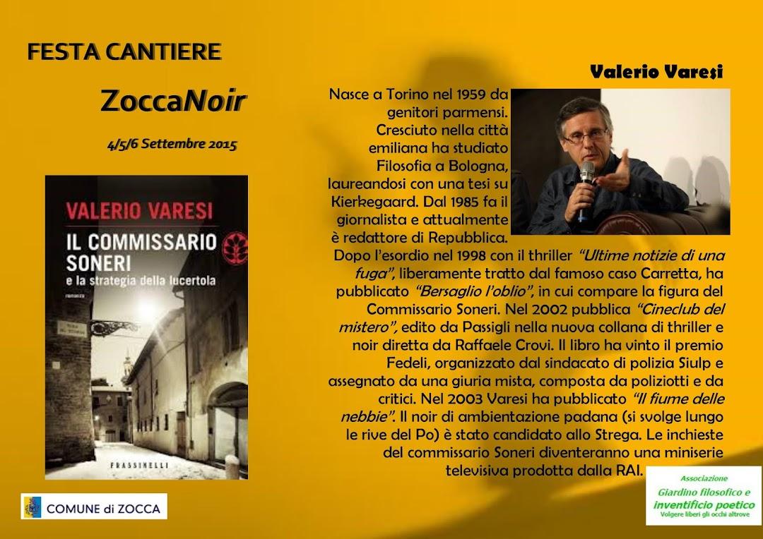 Biografia Valerio Varesi