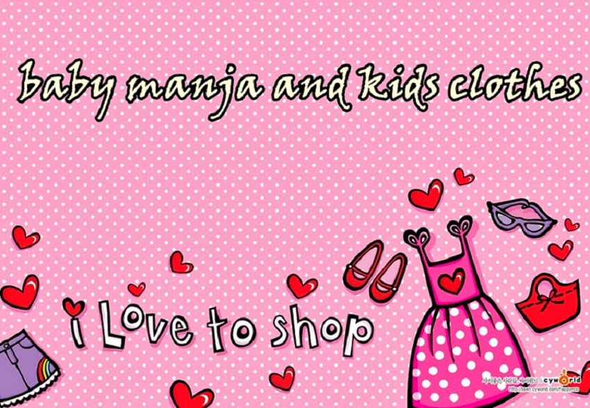 baby manja and kids clothes