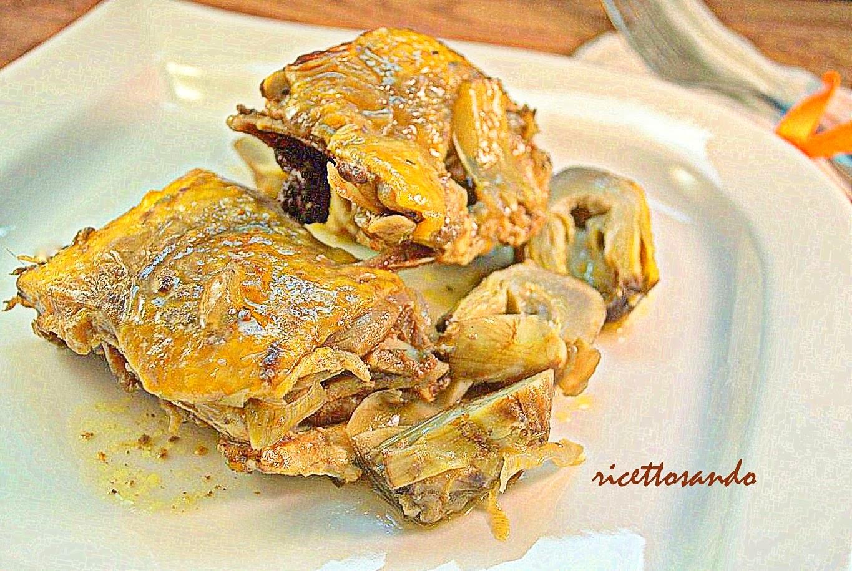 Faraona con spezie e carciofi ricetta carni bianche