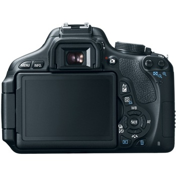 Canon EOS Rebel T3i LCD Display
