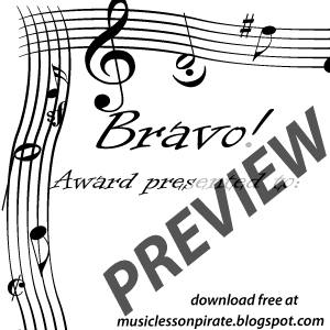 Music lesson pirate music teaching resources recital schmecital bravo yadclub Choice Image