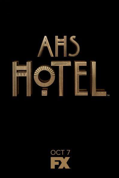 ¡Fecha de estreno y primeros pósters oficiales de 'American Horror Story: Hotel'!