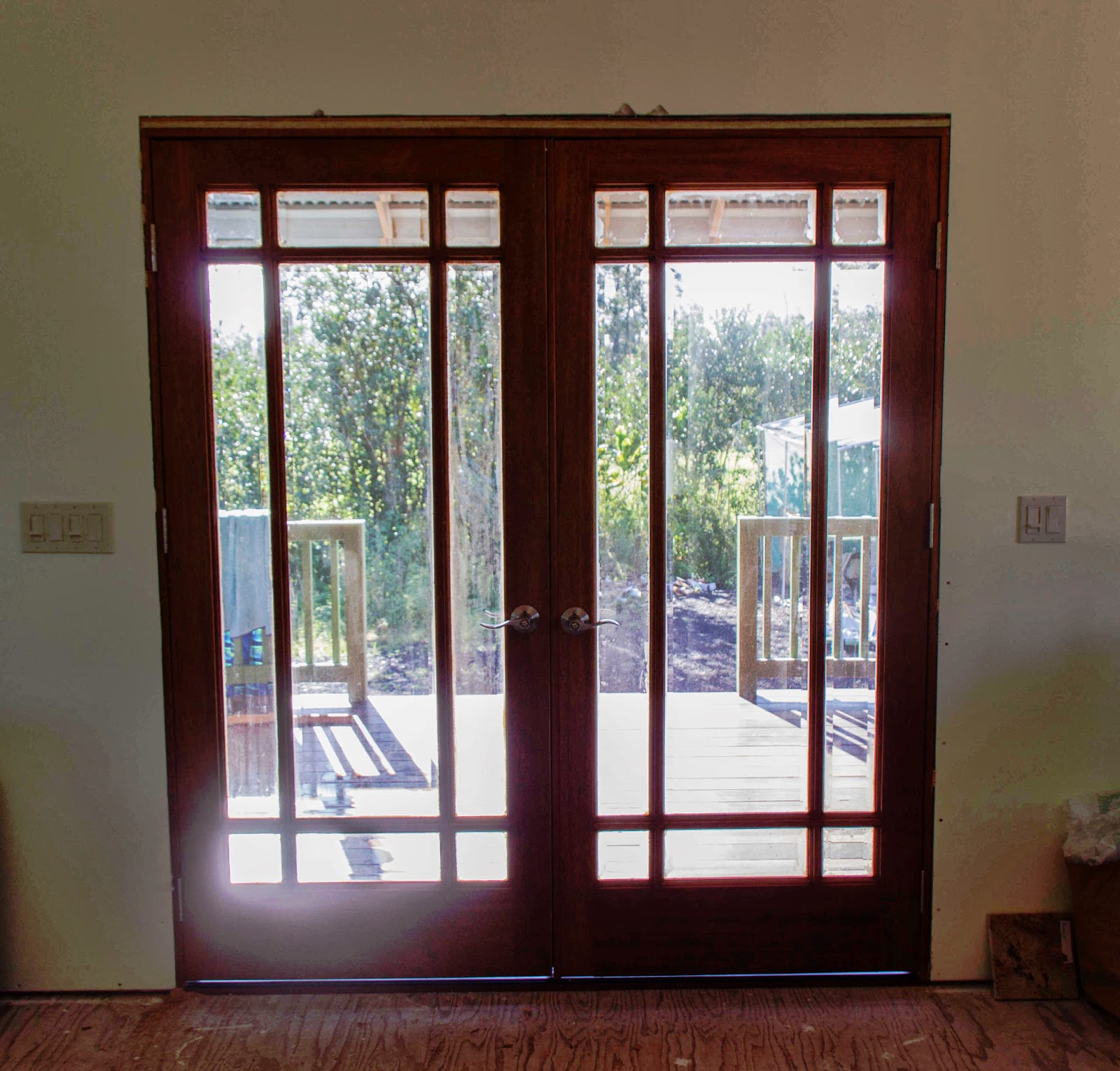 1530 #301310  The Second Front Door Today And Now We Have Working Front Doors pic Front Doors Installed 47011600