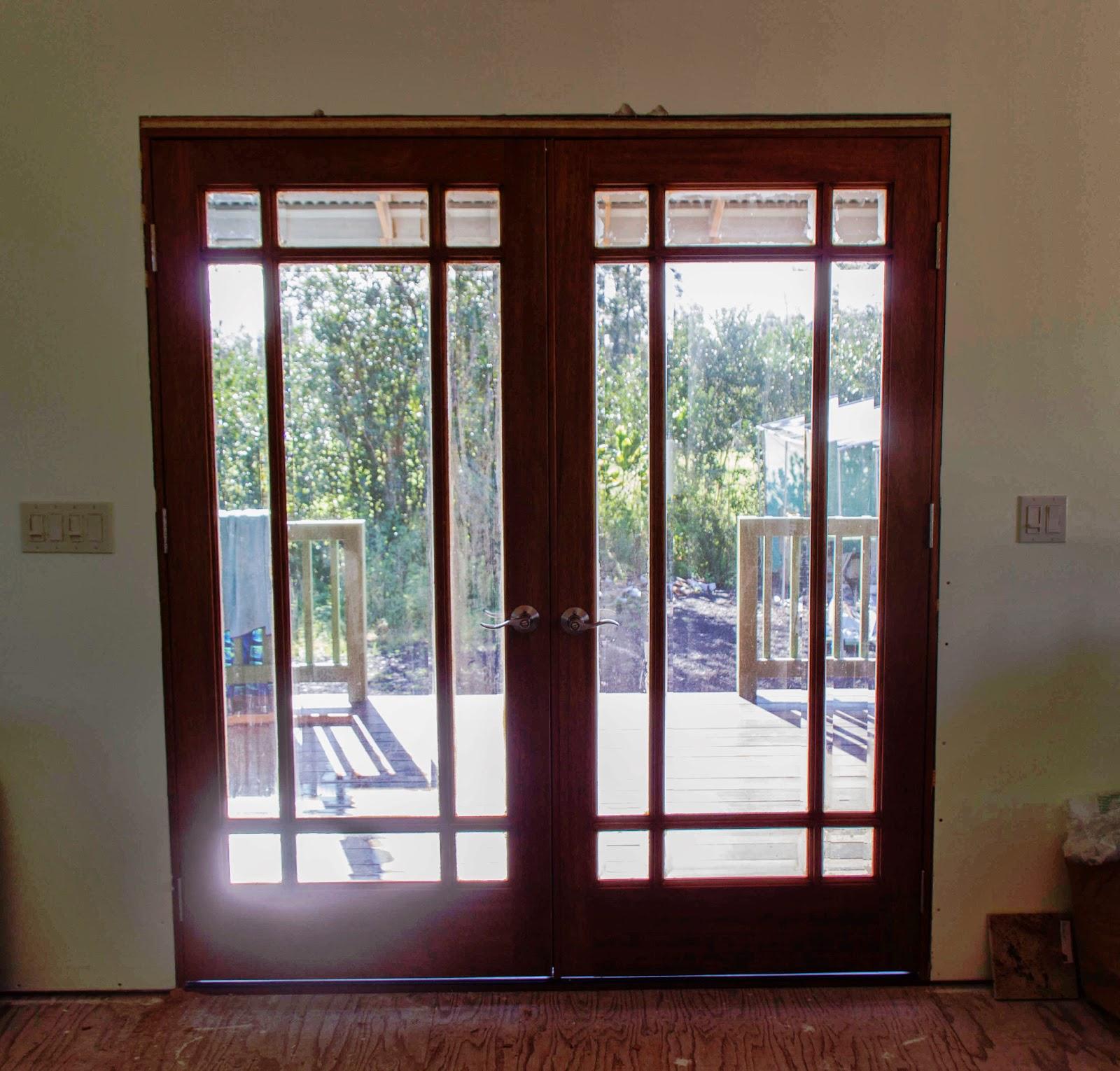 Big Island Living Second Front Door Installed