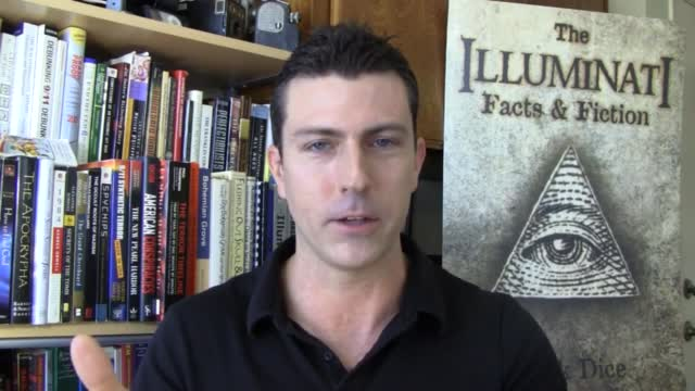 Mark Dice reads books on the illuminati