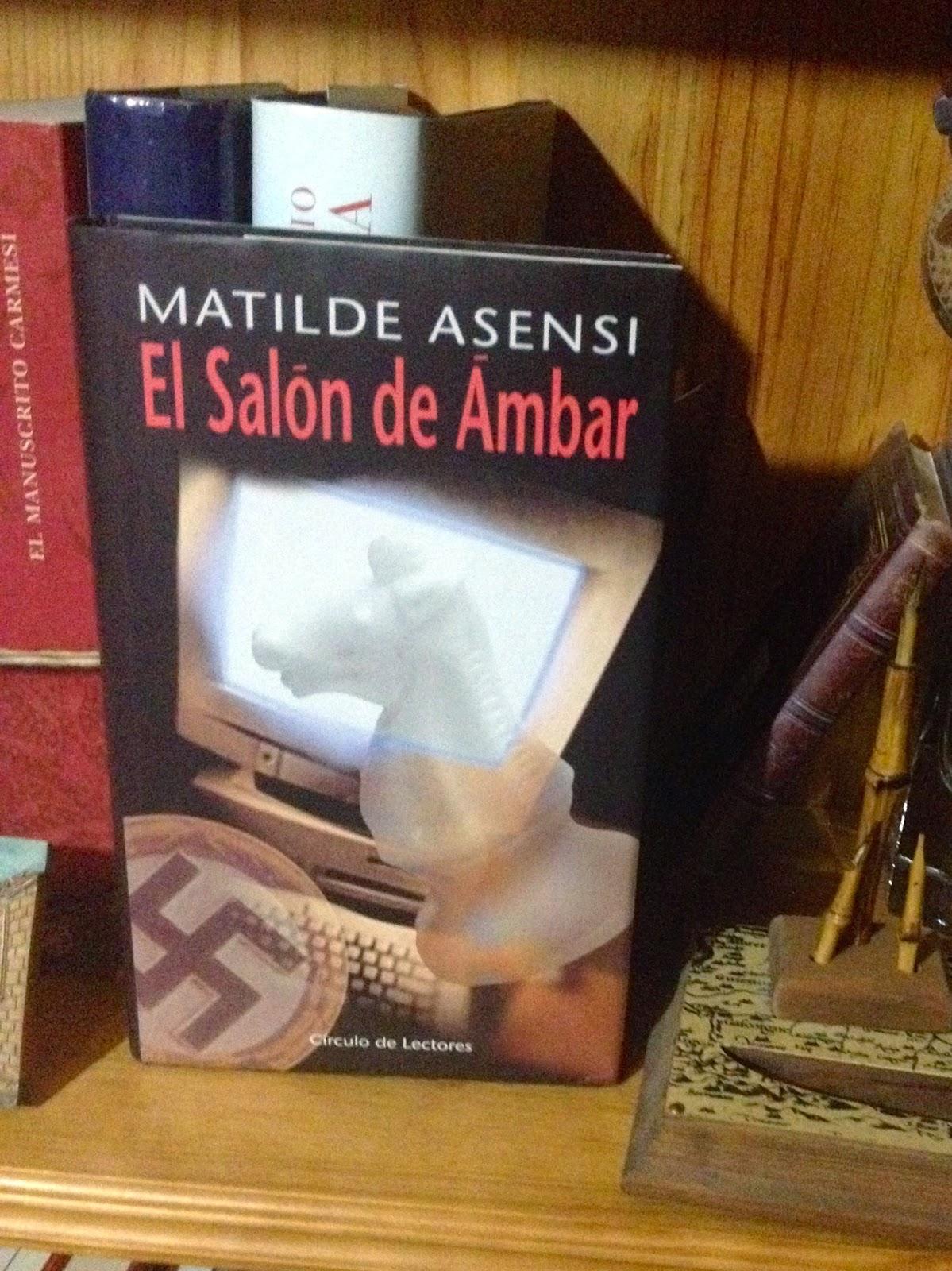 Libro de autor espa ol el sal n de mbar