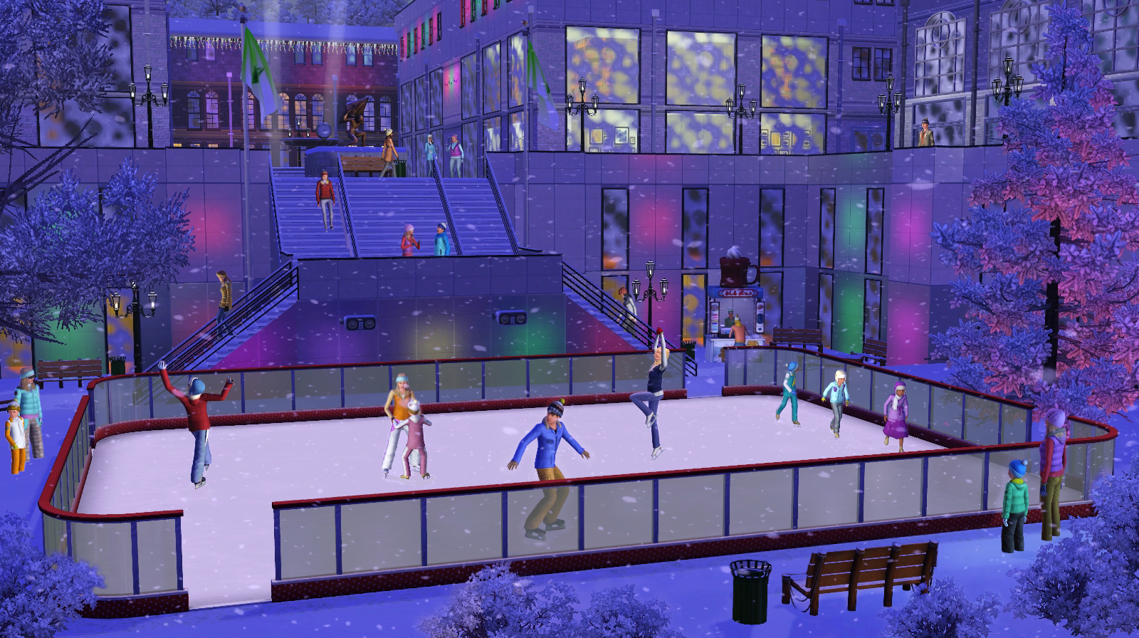 Allt Om Sims: The Sims 3 Årstider release