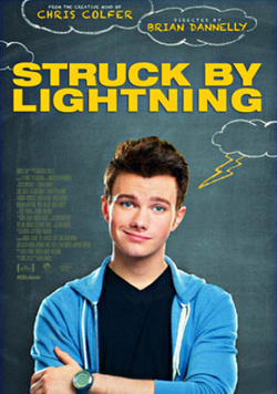 Struck by Lightning 2012 poster