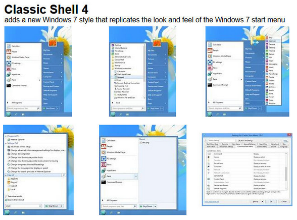 Classic Shell 4.2.5 Free Download Latest Version 2016