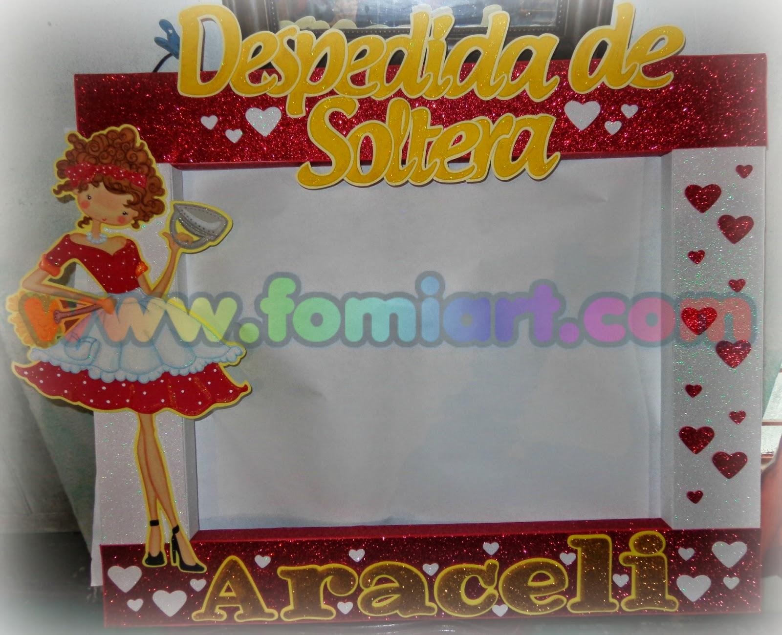 marco decorado despedida de soltera