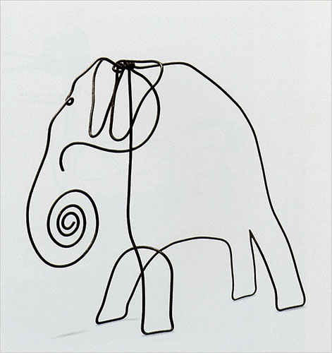 Continuous Line Drawing Of Animals : Threads of a story the wonderful world alexander calder