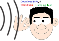 Script Audio Listening Test UN SMK 2015