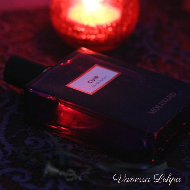 Vanessa Lekpa : critique et avis du nouveau parfum Cuir de Molinard
