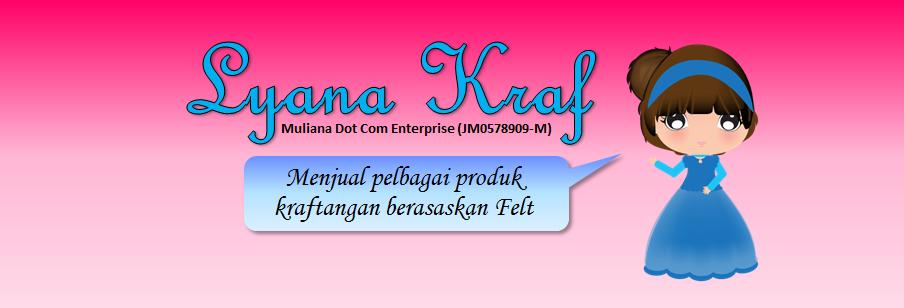 Menjual Hasil Kraftangan dari Felt 100% handmade