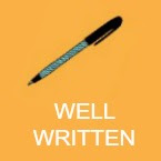 well written book icon