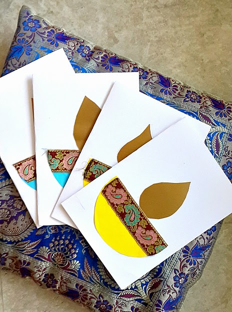 A Creative Project How To Make Diwali Cards With Your Kid
