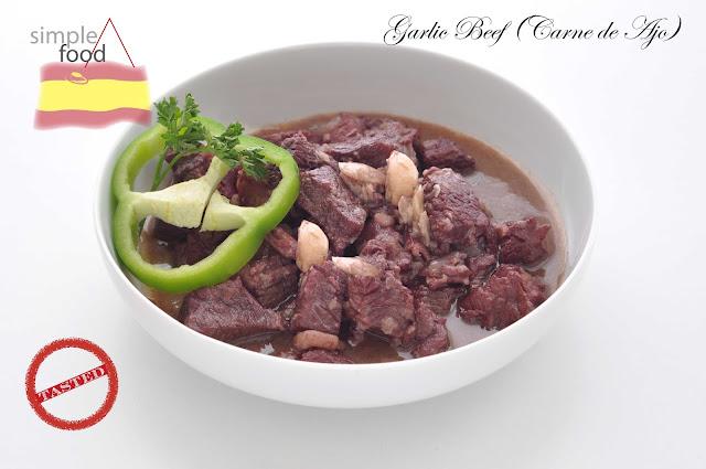 Garlic Beef ~ Simple Food