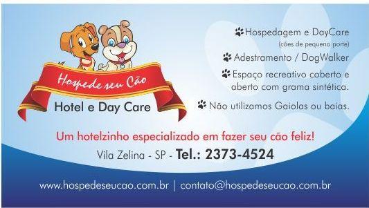 Hospede Seu Cão! Hotel e DayCare