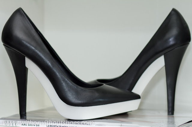 Stella McCartney inspired: RUBBER PLATFORM STILETTOS