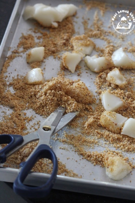 Cara Buat Rice Cake Guna Tepung Pulut