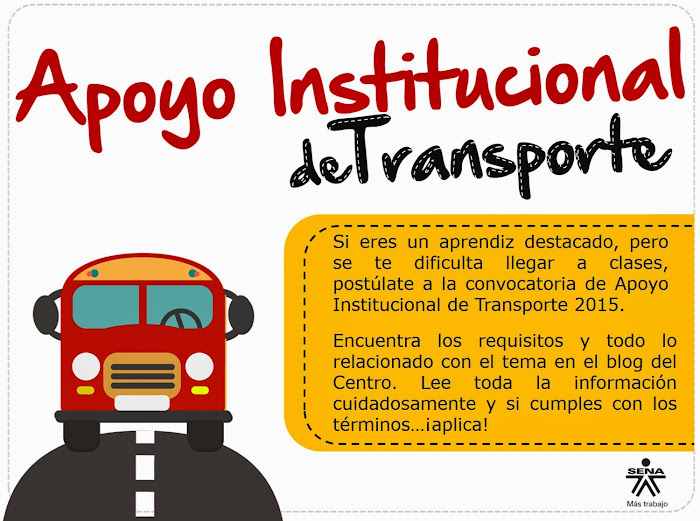 Apoyo de Transporte 2015