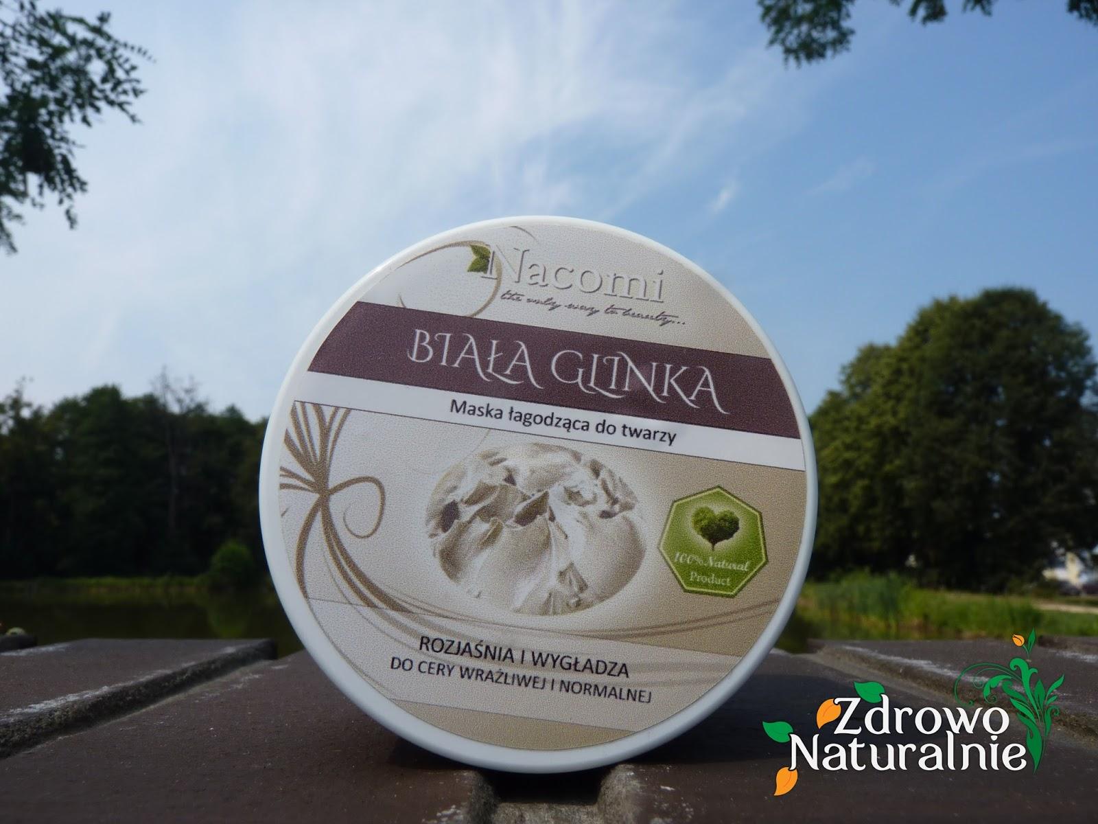 Nacomi - Biała glinka oraz Organiczny peeling kokosowy