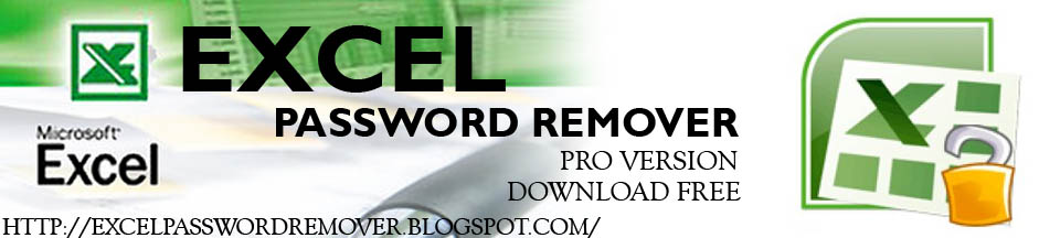 Download Excel Password Remover Free - Pro Version
