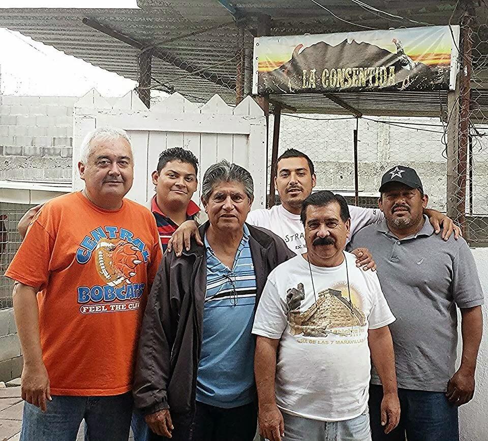 Visita de Don Efrain Ameca Cd.Mier Tamaulipas.