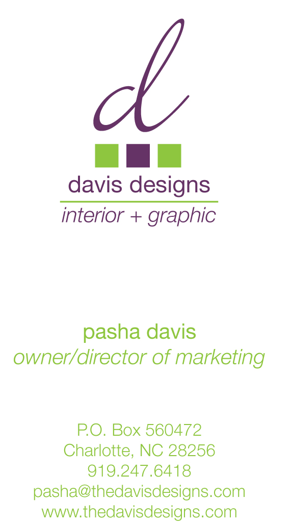 The Importance of a Business Card | Charlotte Interior and Graphic ...