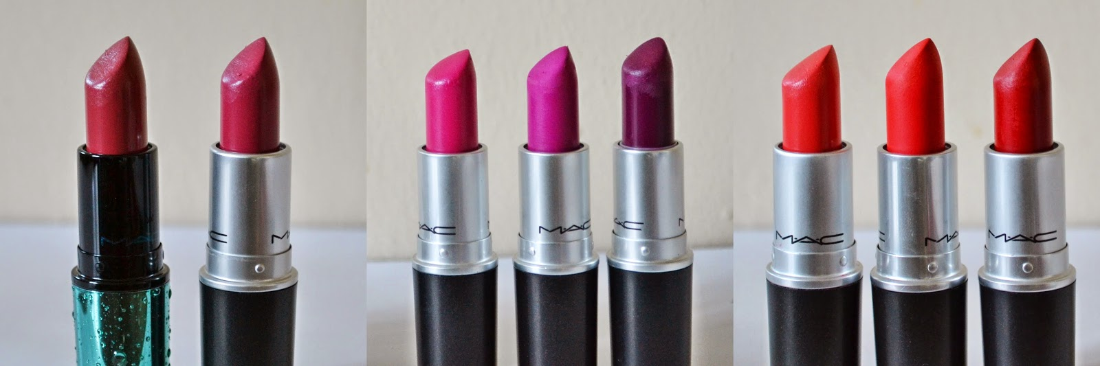 MAC Lipstick Collection #LipWeek - Aspiring Londoner