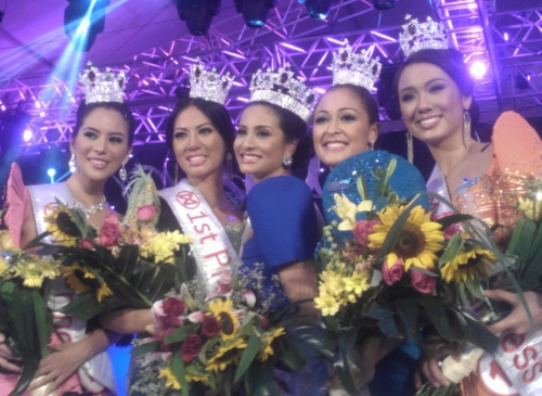 Queenierich Rehman was crowned Miss World Philippines 2012 Mwphi