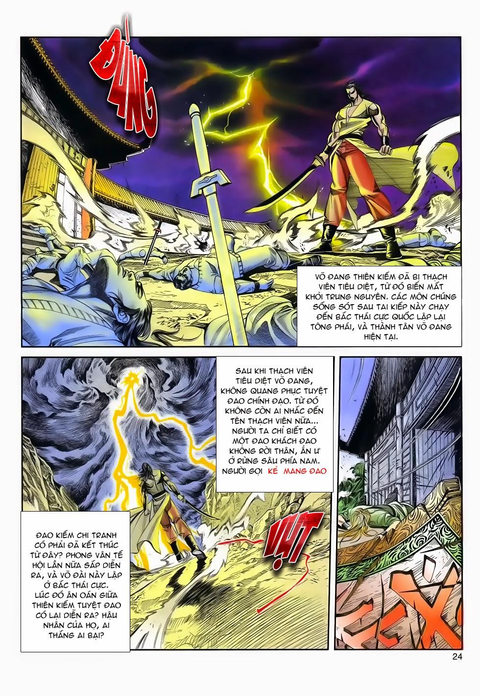 Long Hổ Phong Bạo chap 4 - Trang 23