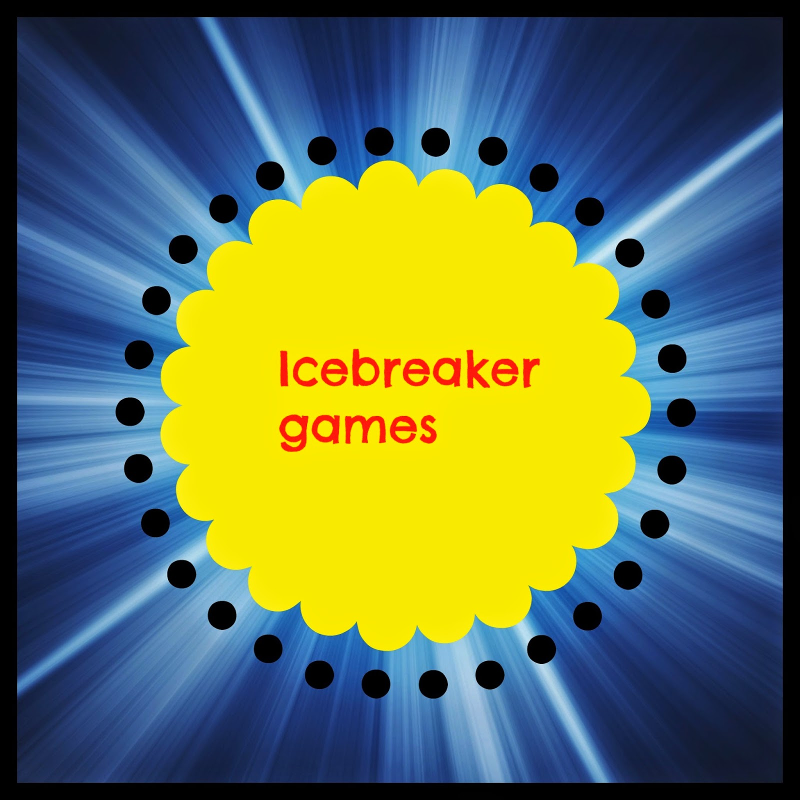 Church group icebreakers adults