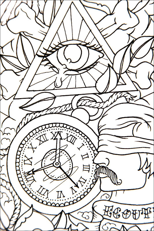 Line drawings for the Van Gils designs, with a few close ups! title=