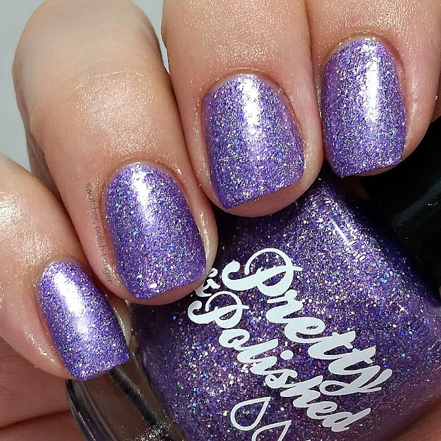 swatcher, polish-ranger | Pretty & Polished Violet Femmes swatch