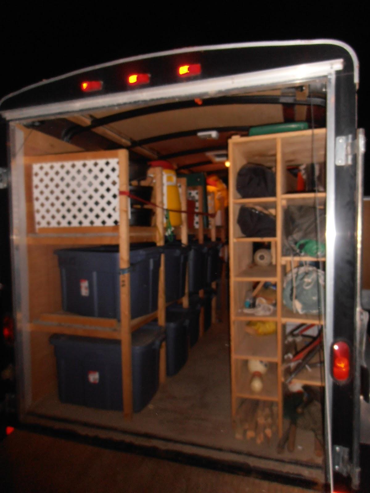 red cedar roundtable troop trailer