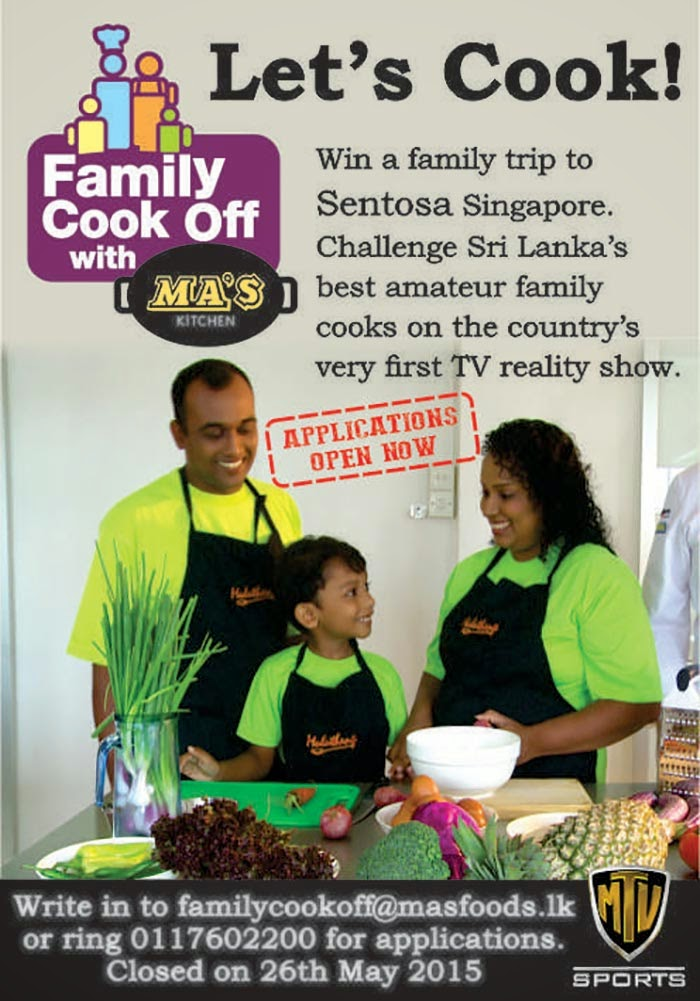 Family Cook-off Competition by Ma's Foods