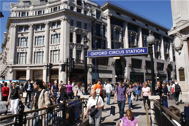 Onde comprar roupas em Londres