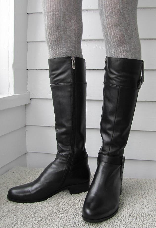 Howdy Slim Riding Boots For Thin Calves Solemani Gabi
