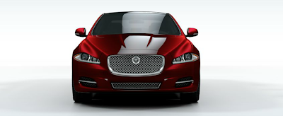2012 Jaguar XJ regular wheelbase red